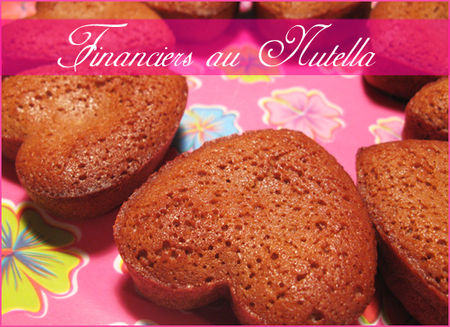 Financiers-nutella