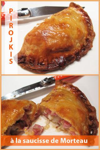 Pirojkis-saucisse