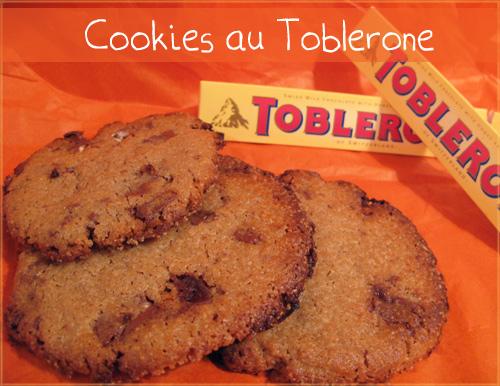 Cookie-toblerone