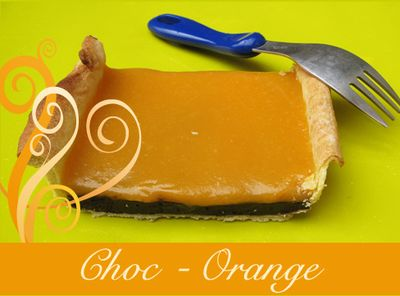 Tarte ChocOrange
