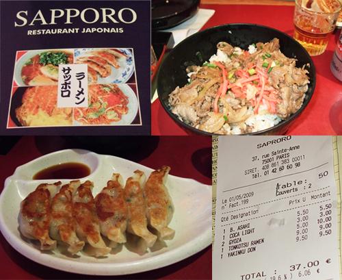 Sapporo-cuisine