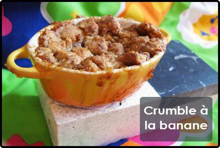 Crumble-banane