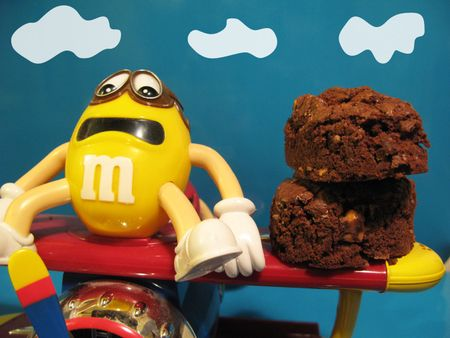 Brownie-m&ms