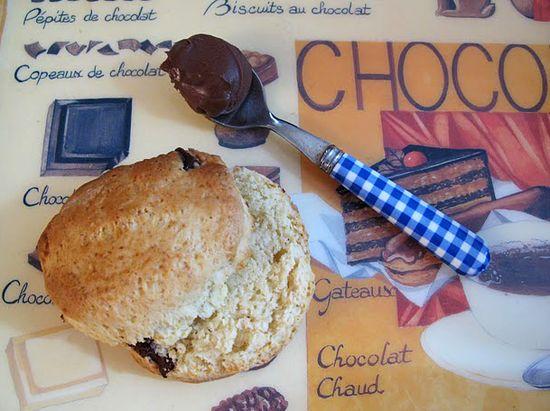 Scone-chocolat