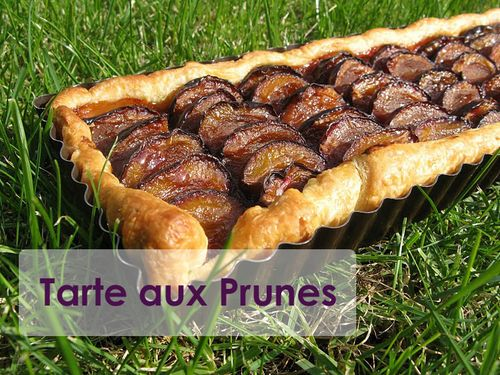 Tarte-prunes