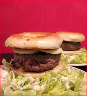 Bagel_burger